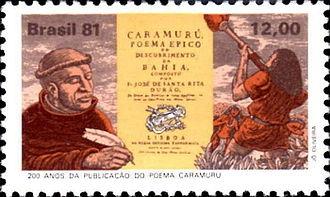 Santa Rita Durão - Image: Santa Rita Durão 1981 Brazil stamp