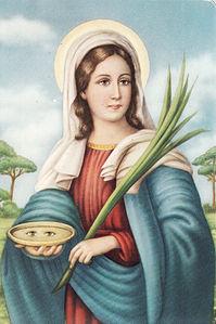 Santa Lucia - L'autunno e le sue festività di Luisa Paglieri