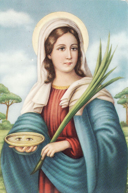 Popular devotional image. Santalucia.jpg