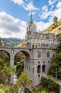 Santuario De Las Lajas Wikipedia A Enciclopedia Livre