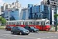 Sarajevo Tram-708 Line-4 2010-07-05 (2).jpg