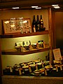 Sarashina-soba food samples - Sarashina Maru-ya, Aoyama shop, 5-52-2 Jingū-mae, Shibuya, Tokyo (更科 丸屋 青山店, 神宮前5-52-2) (2009-01-19 14.04.55 by Marufish).jpg