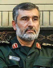 Image result for IRGC Aerospace Commander Hajizadeh
