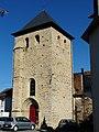 Sarlande église clocher.JPG