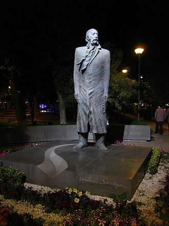 William Saroyan - The statue of William Saroyan in Yerevan, Armenia