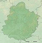 Sarthe department relief location map.jpg