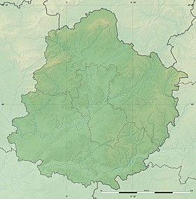 carte topographique de la sarthe