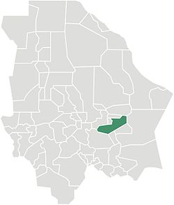 Municipality of Saucillo in Chihuahua