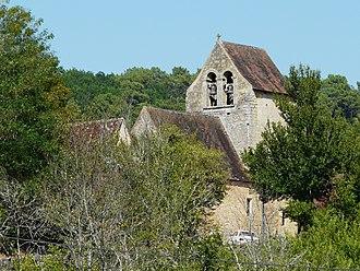 Savignac-de-Miremont - Image: Savignac de Miremont église