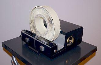 Sawyer's - A Sawyer's Rotomatic slide projector