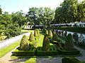 Schloss duchcov blick in den franzoesischen garten.jpg