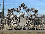 Schnewlinbrücke über die Dreisam und B 31a in Freiburg, Jugendstilgeländer der alten Friedrichsbr. 3.jpg