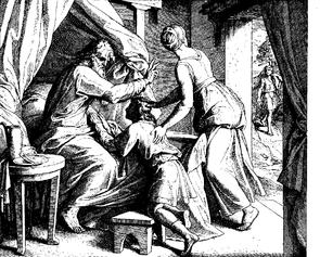 Schnorr von Carolsfeld Bibel in Bildern 1860 031