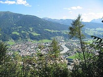 Schwaz - Schwaz seen from the northeast