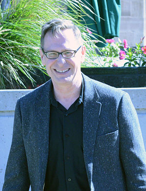 Scott Thompson (comedian) - Thompson at his Brampton Arts Walk of Fame star unveiling, 2014
