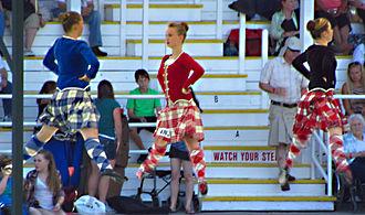 Glengarry Highland Games - Scottish dancers