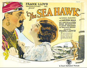 Description de l'image Sea Hawk lobby card.jpg.