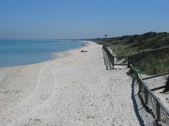Photo of Seaford Beach, Victoria. Creative Commons license https://commons.wikimedia.org/wiki/File:Seaford_Beach_1.jpg