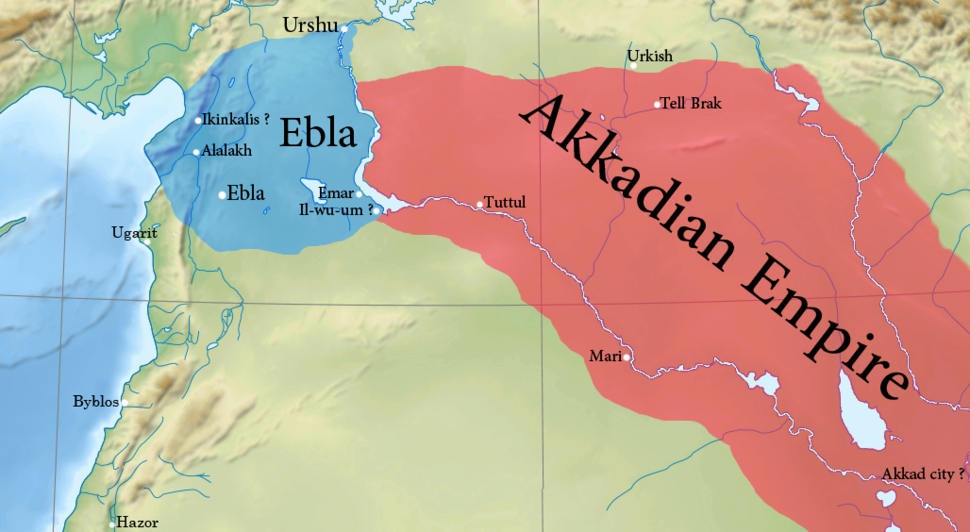 Approximate borders of the second kingdom