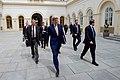 Secretary John Kerry Enters the Palais Niederosterreich Hotel in Vienna (26956297462).jpg