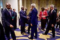 Secretary Kerry Shakes Hands With a Fellow Foreign Minister Before a Meeting in Nairobi (28865644750).jpg
