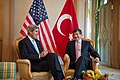 Secretary Kerry with Turkish Foreign Minister Ahmet Davutoglu (9194219643).jpg
