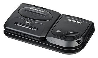 Sega CD - Image: Sega CD Model 2 Set