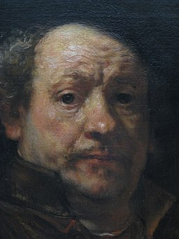 Self-portrait painting by Rembrandt-Metropolitan Museum of Art-2
