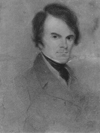 David Claypoole Johnston - Self-portrait by D.C. Johnston, ca.1830