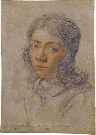 Jean Baptiste de Champaigne - Self-portrait at the age of seventeen