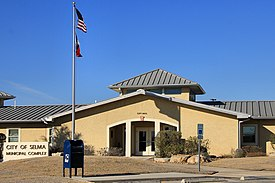 Selma texas city hall 2014.jpg