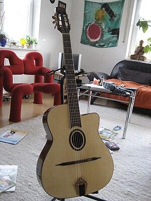 Selmer guitar - Copy of a Selmer Maccaferri guitar.