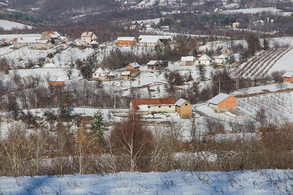 Selo Ogladjenovac - opština Valjevo - zapadna Srbija - panorama 14