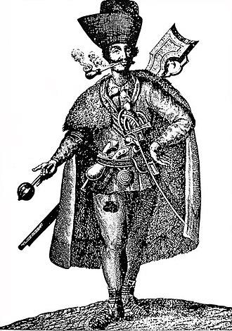 Syrmia - Serb soldier in Syrmia, 1742