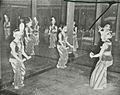 Serimpi Dance in Yogyakarta, Kota Jogjakarta 200 Tahun, plate after page 144.jpg