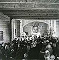 Service in the old church at Rørstad.jpg