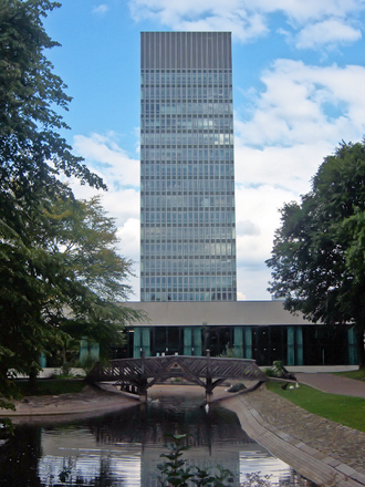 Sheffield school - The Arts Tower, which housed the University of Sheffield's Biblical Studies department.