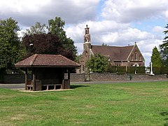 Shelter and Holy Trinity Church, Potten End - geograph.org.uk - 226872.jpg