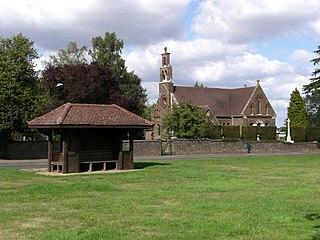 Potten End Human settlement in England