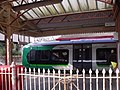Shirley Station, Haslucks Green Road, Shirley - London Midland Class 172 (7006210611).jpg