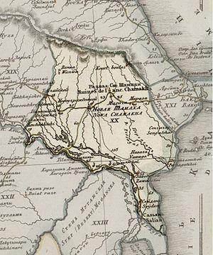 Shirvan Khanate - Image: Shirvan khanate's map