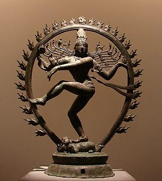 Shaiva Siddhanta - Lord Nataraja, moderating Panchakritya, the supreme being of Siddhantism.