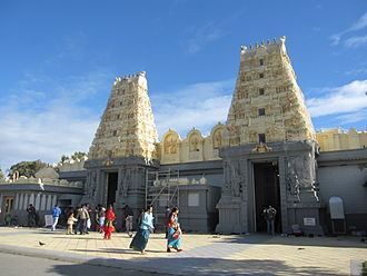Hinduism in Australia - Shiva Vishnu Temple in Melbourne.