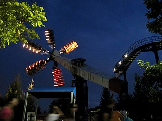 Shockwave is a Top Scan ride in the International Festival section. Shockwave (4887223026).jpg