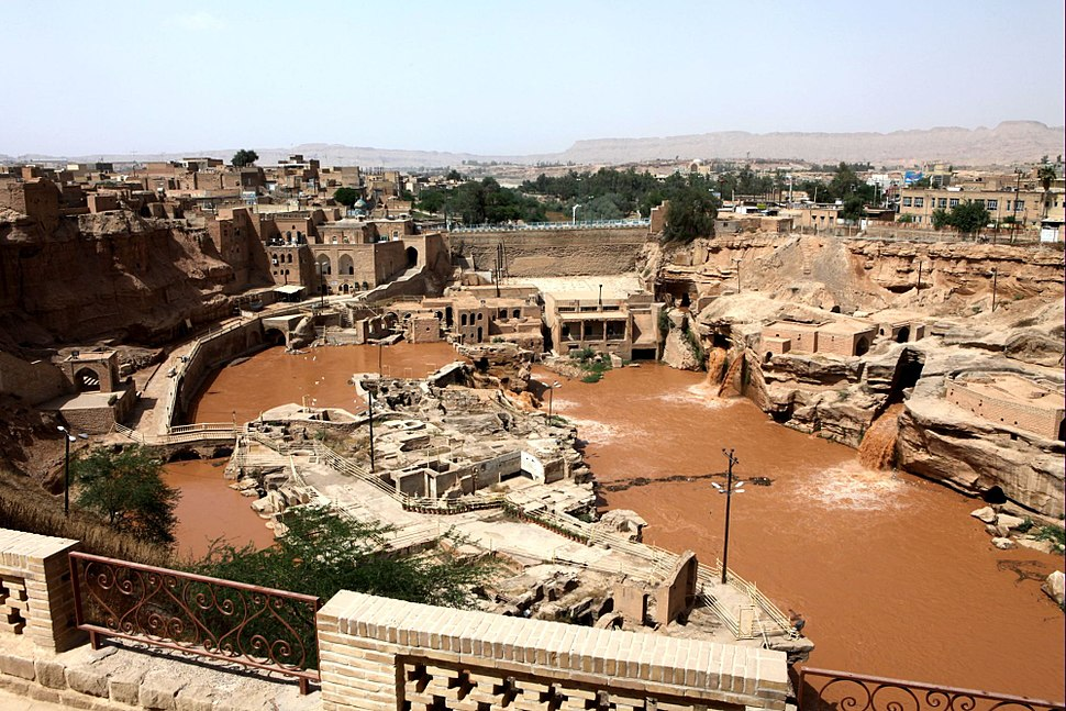 Shushtar Waster Structure1