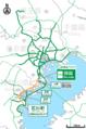 Shutoko expwy yokohane route.png
