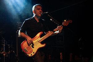 Siddharta (band) - Jani Hace, bassist of Siddharta, Warsaw 2014.