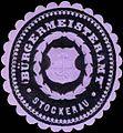 Siegelmarke Bürgermeisteramt Stockerau W0318065.jpg