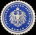 Siegelmarke Festungs-Funker-Abteilung - Namur W0259969.jpg