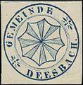 Siegelmarke Gemeinde Deesbach W0385135.jpg